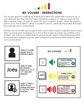 Individual and Class Volume Meters for Students With Autism and Diverse Learners