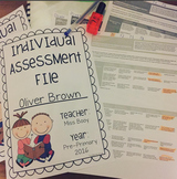 Individual assessment file cover
