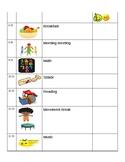 Individual schedule