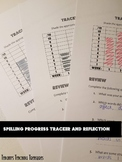 Individual student spelling progress tracker + reflection