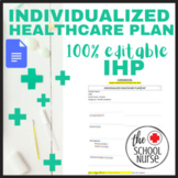 Individualize Healthcare Plan- Editable Google Docs