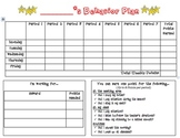 Individualized Behavior Plan II