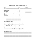 Individualized Choral Plan