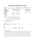 Individualized Choral Plan