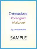 Individualized Phonogram Workbook -- SAMPLE