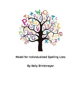 Individualized Spelling Lists