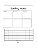 Individualized Spelling data tracker