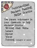 Individualized Student Reading Skills Practice Kit