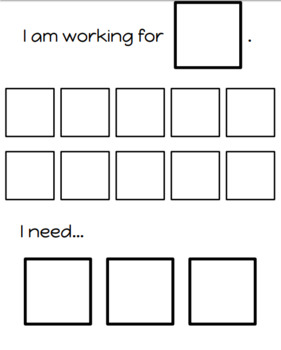 Individualized Token Charts for Special Education