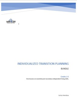 Individualized Transition Planning (ITP) - Independent Living Skills Credits 1-5