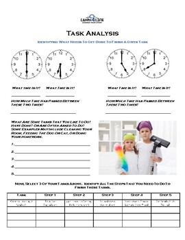 Independent Living Skills (ITP) - Time Management