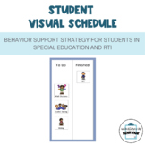 Individualized Visual Schedule