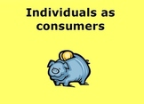 Individuals as Consumers