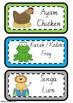 Indonesian Animal Flashcards
