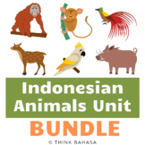 Indonesian Animals BUNDLE (Poster, Research Templates, Act