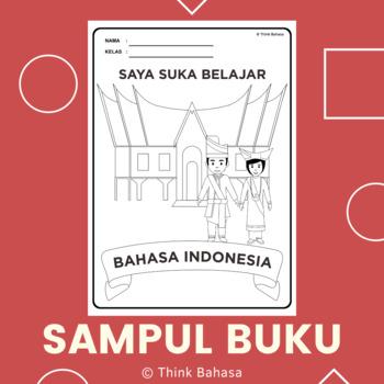 Indonesian Book Cover Rumah Dan Pakaian Adat Minangkabau By
