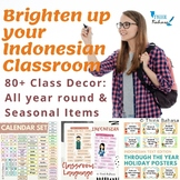 Indonesian Classroom Decor BUNDLE (Over 80 Class Display Items)