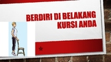 Indonesian Classroom Instruction Posters