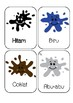 Indonesian Colour Flashcards