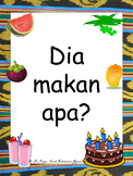 Indonesian Colour & Food Flashcards