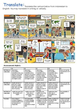 Indonesian End of Term Assessment (Year 3/4)