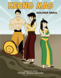 Indonesian English bilingual books series: Keong Mas (and Worksheets)