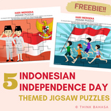 Indonesian Independence Day Themed Jigsaw Puzzles (Free)
