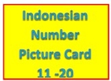 Indonesian Number and Worksheets 11 -20
