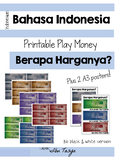 Indonesian Play Money | Uang Mainan | Bahasa Indonesia