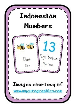 Indonesian Vocabulary Pack 1
