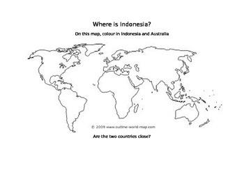 Indonesian Webquest Worksheet