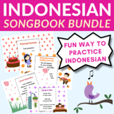 Indonesian children's song book bundle (50 songs)