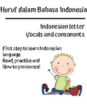 Indonesian letter, how to pronounce