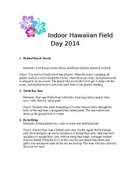 Indoor Hawaiian Field