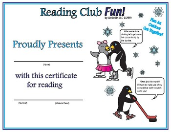 Indoor & Outdoor Get-Together Reading Log and Certificate Sets
