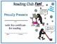 Indoor & Outdoor Get-Together Reading Log and Certificate Sets