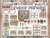 Indoor Plant Classroom Décor Bundle – Suitable for ALL year levels