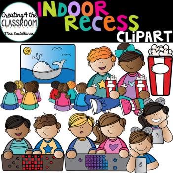 Indoor Recess Clip Art  {School Clip Art}