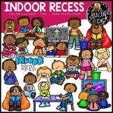 Indoor Recess Clip Art Set {Educlips Clipart}
