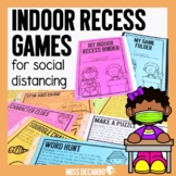 Indoor Recess Games for Social Distancing