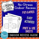 Indoor Recess Ideas- EASY and CREATIVE