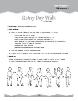 Indoor Recess: Movement (Ten-Minute Activities)