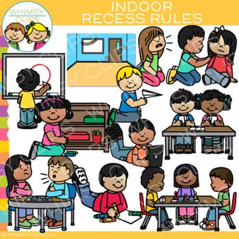 Indoor Recess Rules Clip Art