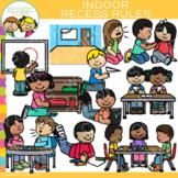 School Indoor Recess Rules Clip Art