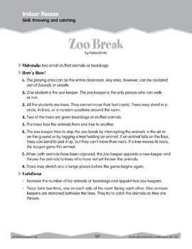 Indoor Recess: Throwing and Catching (Ten-Minute Activities)