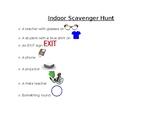 Indoor Scavenger Hunt