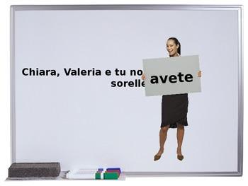 Indovina il verbo Avere