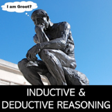 Inductive & Deductive Reasoning Worksheet with Fun Problems