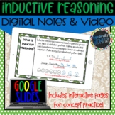 Inductive Reasoning Digital Notes; Distance Learning, Goog