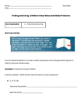 Inductive Reasoning Guided Notes